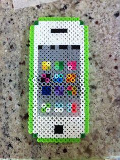 Perler bead I phone