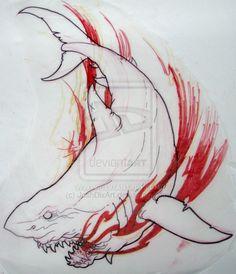 Shark Sketch by JoshDixArt.deviantart.com on @deviantART