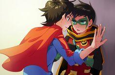DamiJon - The Super Sons Ship