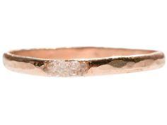 Raw Diamond Cluster Ring by Blair Lauren Brown Jewelry | Rings | AHAlife.com Unusual Engagement Rings, Engagement Ring Shapes, Silver Engagement Rings, Wedding Rings, Bridal Rings, Wedding Stuff, Dream Wedding, Wedding Ideas, Silver Jewellery Indian
