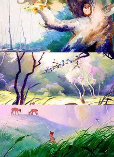 Visually Breathtaking Disney Bambi
