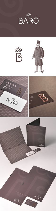 Barô Eventos - Naming | Identidade Visual  |  2016  https://www.behance.net/gallery/53620055/Baro-Naming-Identidade-Visual
