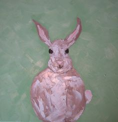 SUMMER SALE ...Peter Cottontail by ClareHooksArt on Etsy, $175.00