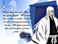 Bleach quotes : Jushiro Ukitake by ishi-kuchiki on DeviantArt Bleach Anime, Bleach Art, Shinigami, Ukitake Bleach, Bleach Quotes, Ichigo And Rukia, Manga Quotes, Distinguish Between, Anime Fairy