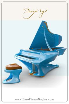 No, it's not a technicolordream; it's a Boganyigrand piano, color-customized for the discerning patron of the finest in modern art and performance music. Sound Of Music, Music Love, Roland Piano, Piano Cords, Beginner Piano Music, Instruments, Mundo Musical, Piano For Sale, Guitars