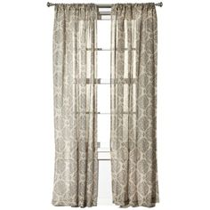 Target HomeTM Botanical Burnout Sheer 1599 Apparently Has All Of Their Curtains On Saledamn