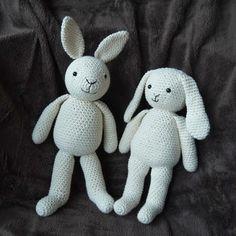 Mesmerizing Crochet an Amigurumi Rabbit Ideas. Lovely Crochet an Amigurumi Rabbit Ideas. Crochet Bunny Pattern, Crochet Rabbit, Easy Crochet Patterns, Crochet Ideas, Easy Crochet Projects, Crochet Crafts, Crochet Dolls, Crocheted Toys, Easter Crochet