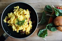 How to Make Perfect Scrambled Eggs: Easy Scrambled Eggs Recipe (With Video) - 2020 - MasterClass How To Make Breakfast, Best Breakfast, Breakfast Recipes, Fluffy Scrambled Eggs, Fluffy Eggs, Three Ingredient Recipes, Food Cravings, Egg Recipes, Lunches