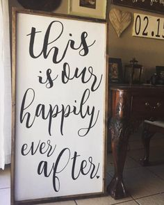 Wooden sign wood sign wedding decor wedding