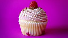 These Raspberry White Chocolate Cupcakes are sure to wow your guests any time of the year.