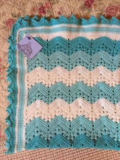 6-Day Kid Blanket – free pattern! #6daykidblanket #crochet