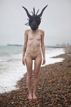 fluffy Lychees, Ben Hopper's Naked Girls with Masks Ben Hopper...