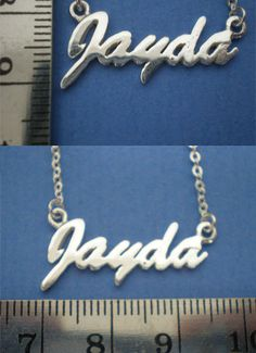 Personalized Name Words Font and Letters Necklace by yhtanaff, $40.00