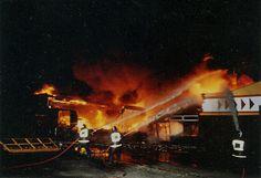 De hevige brand bij Videorama