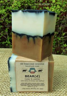 Handmade BEARd Soap by mppineconedesigns on Etsy Beard Soap, Beard Shampoo, Natural Oils, Pillar Candles, Shea Butter, Fragrance, Crafty, Unique Jewelry, Handmade Gifts