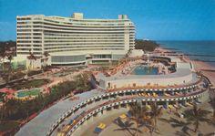 Fontainbleau, Miami Beach, FL, 1970s