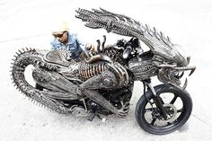 innovative bike design dragon http://webneel.com/daily | Design Inspiration http://webneel.com | Follow us www.pinterest.com/webneel