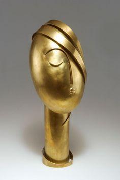 Franz Hagenauer (1906-1986), Werkstätten Hagenauer, Wien, Brass Sculpture.