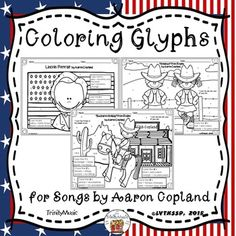 Aaron Copland Coloring Page