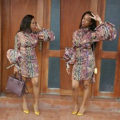 2019 Trending and Unique Ankara Styles For Ladies To Check Styles And Designs African Dresses For Women, African Print Dresses, African Attire, African Wear, African Women, African Lace, African Style, Ankara Short Gown, Ankara Gowns