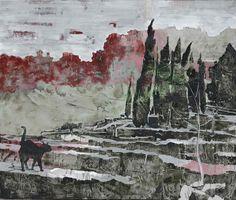 Pere de Ribot. s.t. / oli sobre tela 195x230cm, 2005 #gallery #contemporary #art