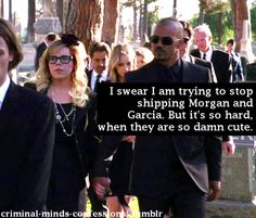 Criminal Minds Confessions. After 9 seasons you think they would just get together goodness!