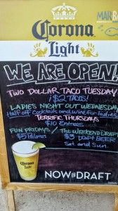 There are always specials Atlanta Sept 2014 Chalkboard Quotes, Art Quotes, Atlanta