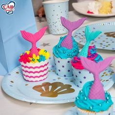 Are you ready for a party filled with wonder? Our under the sea themed party supplies are sure to make your little one's day all the more special! Shop in store or online to find these and more Under the Sea themed decorations and party goodies.  Mermaid Tail Mix - R37.98 Gold Seashell Plates Pack of 10 - R29.99 Gold Seashell Cups Pack of 10 - R29.99