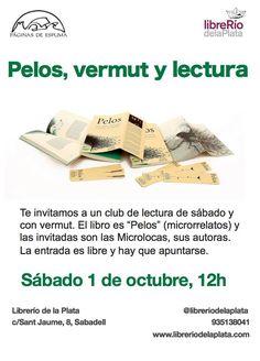 Presentación del libro Pelos en Librerío de la Plata