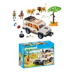 Playmobil 6798 Safari Truck with Lions Playmobil Animals Vehicles