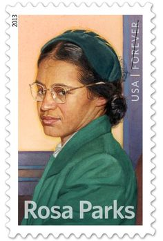 """Rosa Parks, the iconic civil rights activist who did so much more for the movement than give up her seat on a bus, was born 100 years ago today in Tuskegee, Alabama. There is a new book on her life, """"The Rebellious Life of Mrs. Rosa Parks,"""" by historian Jeanne Theoharis and a new stamp, issued by the U.S. Postal Service."""