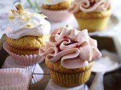 Teatime - süße & herzhafte Snacks zur Teestunde - zweierlei-cupcakes  Rezept