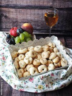 Olasz boros kekszek- Ciambelline al vino   Tétova ínyenc