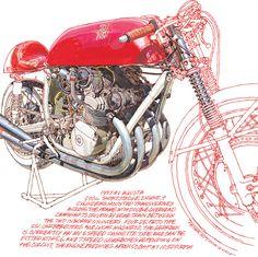 1957 MV Augusta 500 GP