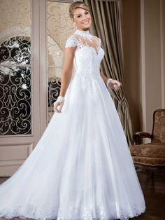 Vestidos de noiva - Coleção Callas (25) Frente
