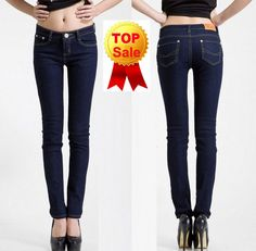 Free Shipping New Arrival 2013 Fashion Casual Brand Mid Waist Women Straight Jeans  Slim Pencil Skinny Denim Pants H0286 - http://nklinks.com/product/free-shipping-new-arrival-2013-fashion-casual-brand-mid-waist-women-straight-jeans-slim-pencil-skinny-denim-pants-h0286/