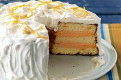 Classic Ice Cream Angel Food Cake