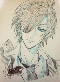 Anime Boy Sketch, Anime Drawings Sketches, Manga Drawing, Manga Anime, Manga Boy, Anime Art, Handsome Anime Guys, Hot Anime Boy, Boy Art
