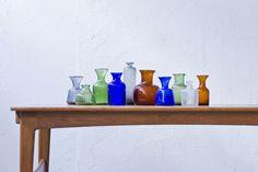 modernisten - Collection of 1950s vases by Erik Höglund