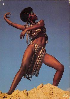 the-two-germanys:      Afrique en coleurs. Postcard, Republique du Tchad.