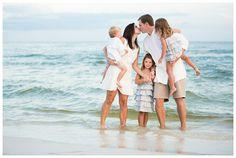 family beach photos ideas | Found on candicekphotography.com