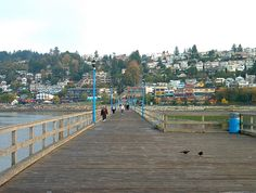 Pier, White Rock, BC by RobertCiavarro, via Flickr #whiterock #whiterockpier #whiterockhomes #whiterockhillside #garymcgrattenrealtor Mc G, Us Travel, Feel Better, San Francisco Skyline, Wander, Dolores Park, Rock, Locks, Rock Music