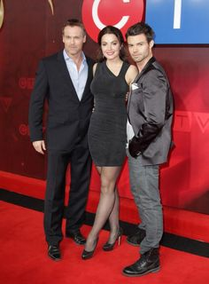 Daniel Gillies with the Saving Hope Cast in the CTV Upfronts
