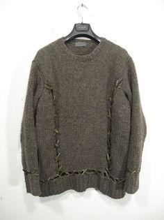 deerskin stitch jumper • yohji yamamoto pour homme