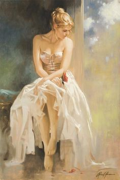 """Lady in Waiting"" ~Richard S. Johnson"