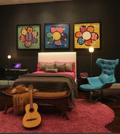 Romero Britto Bedroom