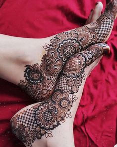 Are you crazy about the best and latest stylish leg mehndi designs? On this festive season try th.