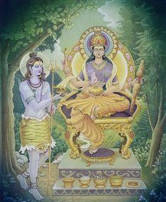 Shiva and Devi Annapurna