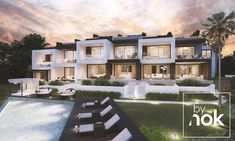 10 UNIQUE TURNKEY SINGLE FAMILY DETACHED VILLAS FOR SALE IN CABOPINO, MARBELLA!  Designed By Ana Santos & Developed By Nok.  Just the best, just us, just a team, just By Nok