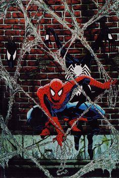 Bestselling Comics - Spider-Man Legends Volume Todd McFarlane Book 2 TPB (Marvel Legends) by Todd Nightwing, Batwoman, Black Spiderman, Spiderman Art, Amazing Spiderman, Spiderman Classic, Spiderman Tattoo, Marvel Tattoos, Marvel Comics Art